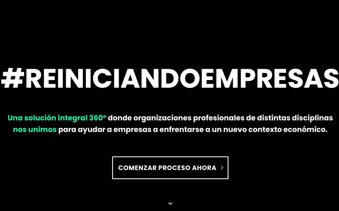 Formamos parte de #ReiniciandoEmpresas