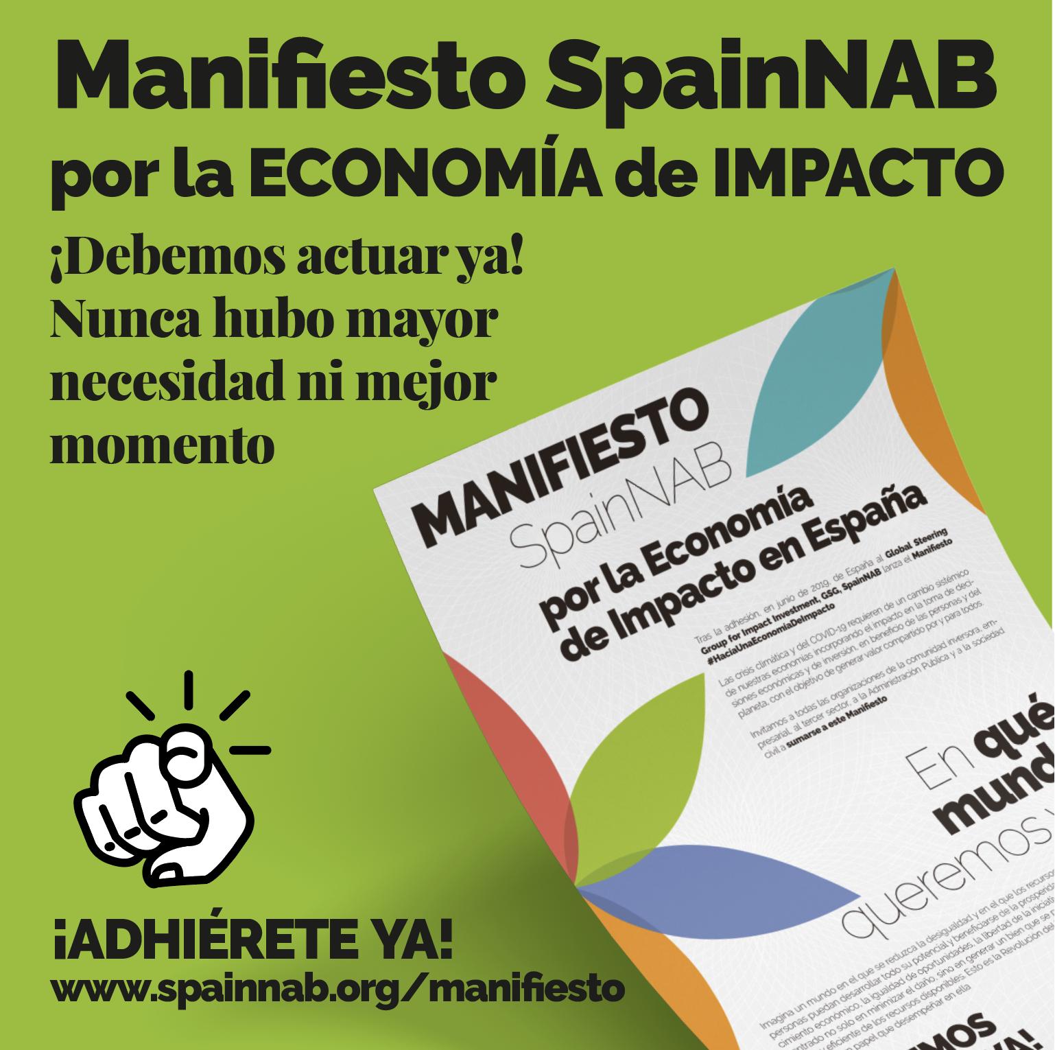 Nos adherimos al MANIFIESTO SpainNAB