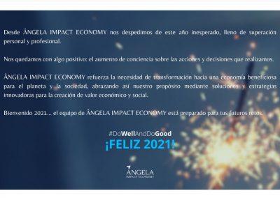 A punto de cerrar el año… ¡Por un feliz y renovador 2021 para todos!