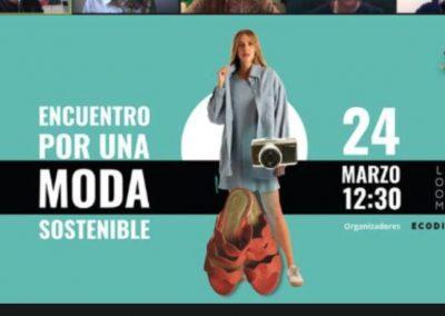 Participamos en el evento #PorUnaModaSostenible