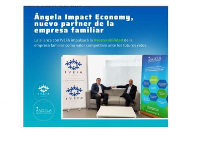 Ângela Impact Economy, nuevo partner de la empresa familiar