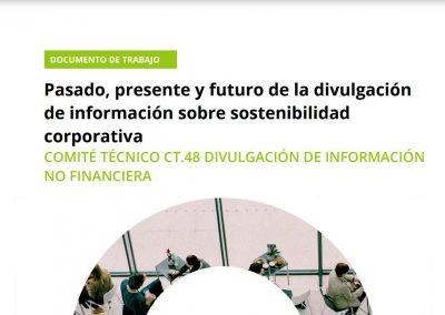 Lanzamiento del documento «Pasado, Presente y Futuro de la divulgación de información sobre sostenibilidad corporativa»