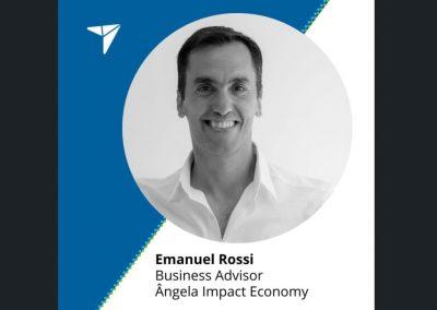 Incorporación de Emanuel Rossi al team de Ângela Impact Economy!